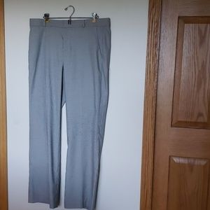 NWOT Banana Republic black/white trousers, sz 14